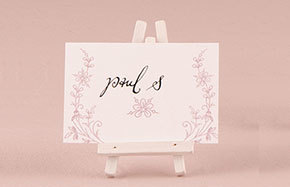 Place Card & Number Holders