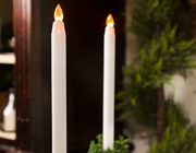 Flameless Taper Candles Subcategory