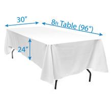 """72"""" x 144"""" Tablecloths"""