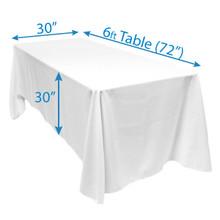 """90"""" x 132"""" Tablecloths"""