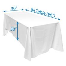 """90"""" x 156"""" Tablecloths"""