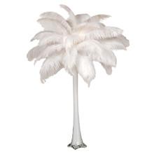 "Ostrich Feather Centerpiece with 28"" Eiffel Tower Vase"
