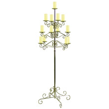 13-Light Tree Floor Candelabra - Pillar
