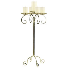 "32"" Tall Tabletop Candelabra - Pillar"