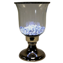 "12"" Candle Holder with Jewel Crystals"