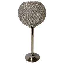 Crystal Ball on Nickel Stand (S)