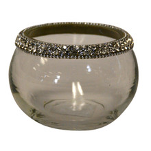 "4"" Votive Holdesr with Jewel Crystals - Case of 4"