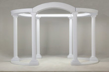 Empire Full Oval Extra Tall Colonnade