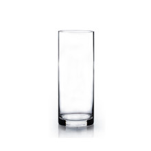 "3"" x 12"" Cylinder Glass Vase - Case of 12 (5.50/pc)"