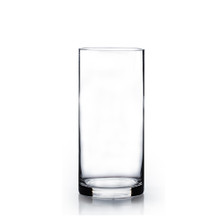 "4"" x 12"" Cylinder Glass Vase - Case of 12 ($5.50/pc)"