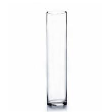 "4"" x 20"" Cylinder Glass Vase - 6 Pieces"