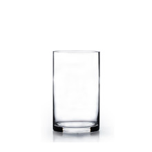"5"" x 10"" Cylinder Glass Vase - Case of 12 ($6.50/pc)"