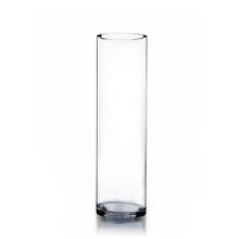"5"" x 18"" Cylinder Glass Vase - 6 Pieces"