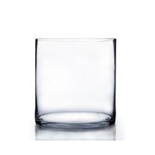 "5"" x 5"" Cylinder Glass Vase - 12 Pieces"