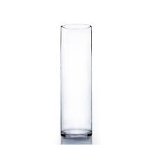 "6"" x 20"" Cylinder Glass Vase - 6 Pieces"