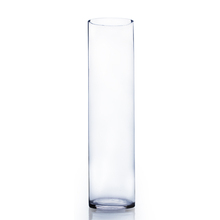 "6"" x 26"" Cylinder Glass Vase - 4 Pieces"