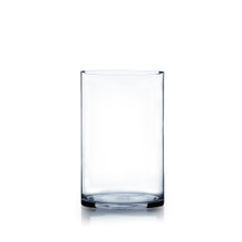 "7"" x 12"" Cylinder Glass Vase - Case of 4 ($13.50/pc)"