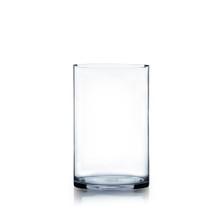 "7"" x 12"" Cylinder Glass Vase - 4 Pieces"