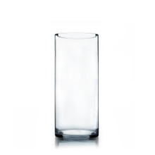 "7"" x 16"" Cylinder Glass Vase - Case of 4 ($18.00/pc)"