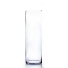 "8"" x 24"" Cylinder Glass Vase - 4 Pieces"