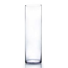 "8"" x 28"" Cylinder Glass Vase - 2 Pieces"