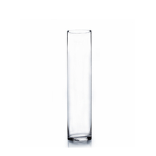 "3"" x 16"" Cylinder Glass Vase - Case of 12 (9.00/pc)"