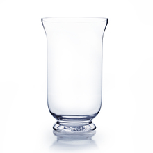 "12"" Hurricane Glass Vase - Case of 6 ($14.00/pc)"