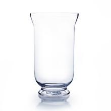 """12"""" Hurricane Glass Vase - 6 Pieces"""