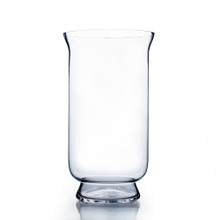 "15"" Hurricane Glass Vase - Case of 2 ($19.50/pc)"