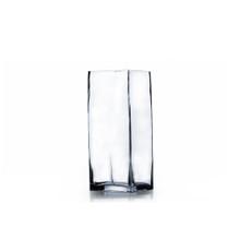 "3"" x 6"" Block Glass Vase - Case of 24 ($4.20/pc)"