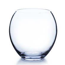 "7.5""x 8"" Clear Bubble Bowl Vase - 4 Pieces"