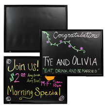 "Unbreakable Panel Erasable LED Board - 24"" x 32"""