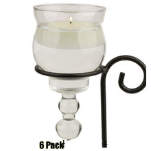 Teardrop Glass for Candelabras - 6 Pack (16.66/pc)