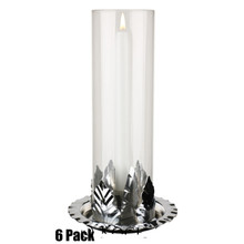 "Candle Chimneys - 10"" - 6 Pack (16.66/pc)"