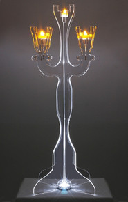 Illuminate Viewpoint Tabletop Candelabra