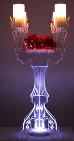 Illuminate Ivy Tabletop Candelabra