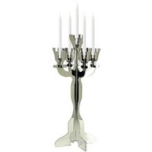 Illuminate Viewpoint Tabletop Candelabra with Mirror Finish