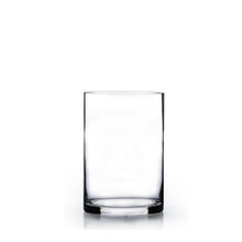 "4"" x 6"" Cylinder Glass Vase - Case of 24 (4.00/pc)"