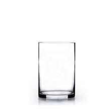 "4"" x 6"" Cylinder Glass Vase - 24 Pieces"