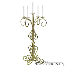 36'' Tall Old World Tabletop Candelabra - Traditional Style