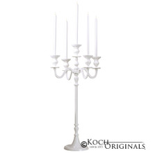 Royalty Candelabra - 40'' - 5 light in White