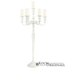 Hierarchy Candelabra - 40'' - 5 light in White