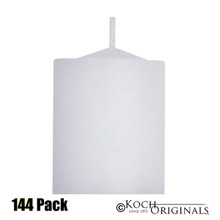 Disposable Votives - 10 hour burn - 144 Pack