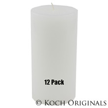 Pillar Candle - 3'' x 6'' - 12 Pack