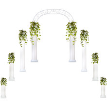 Starter Wedding Package - Roman Columns & Wedding Arch