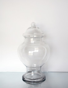 "16.5"" x 9"" Apothecary Jar for Candy Buffet - 2 Pieces"