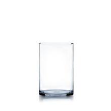 "6"" x 8"" Cylinder Glass Vase - 12 Pieces"