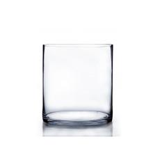 "7"" x 7"" Cylinder Glass Vase - 6 Pieces"