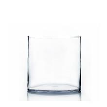"8"" x 8"" Cylinder Glass Vase - 6 Pieces"