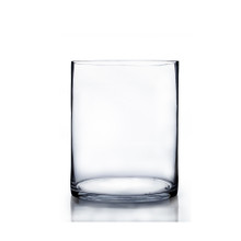 "8"" x 12"" Cylinder Glass Vase - 6 Pieces"